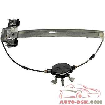 CARQUEST Window Reg Manual Window Regulator Only - part #740-076