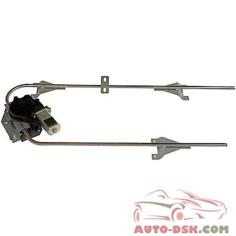 Dorman - HD Solutions Power Window Regulator and Motor Assembly - part #741-5102